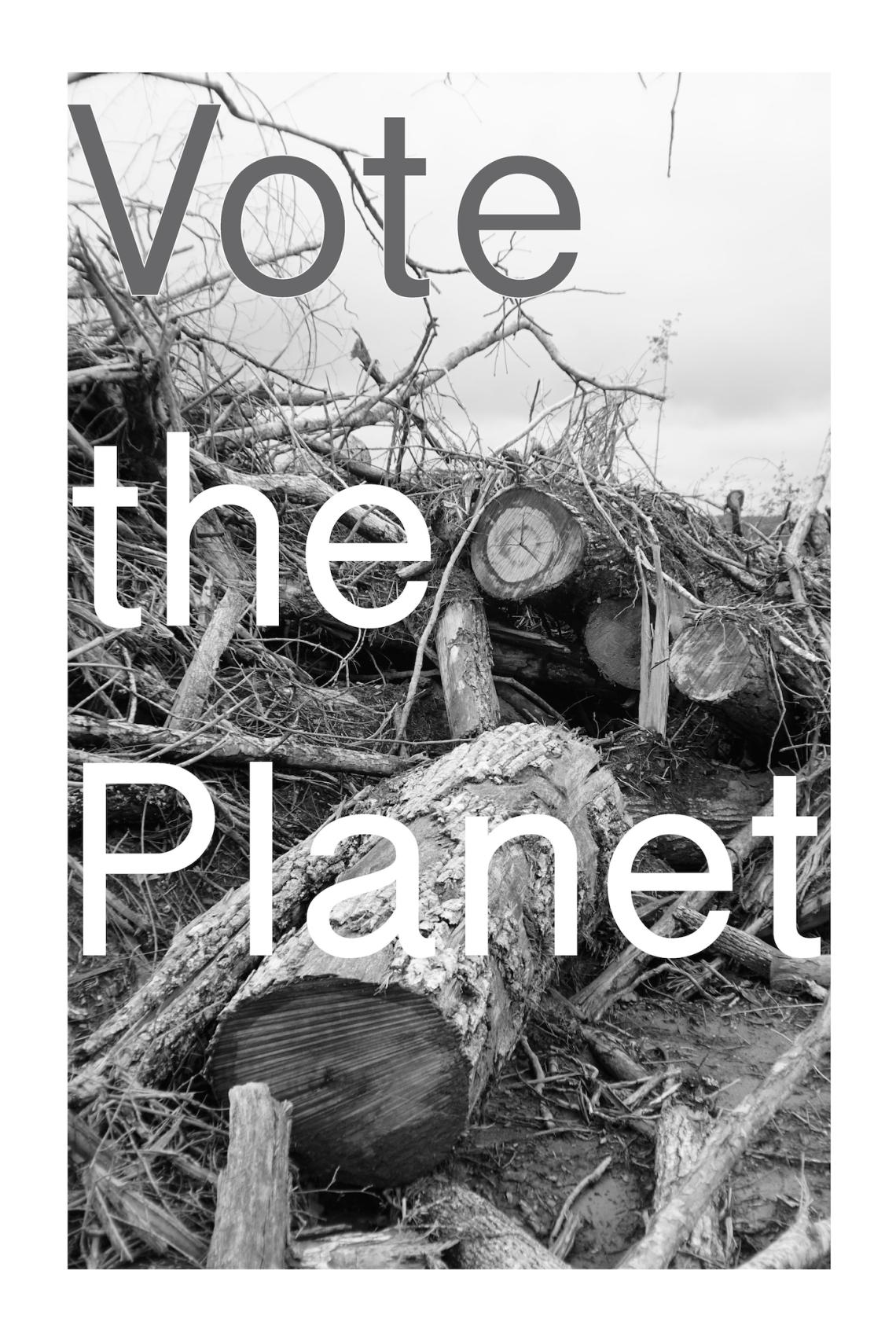 Christopher Davenport, Pocket Knife Press, Vote the Planet- 2016 copy